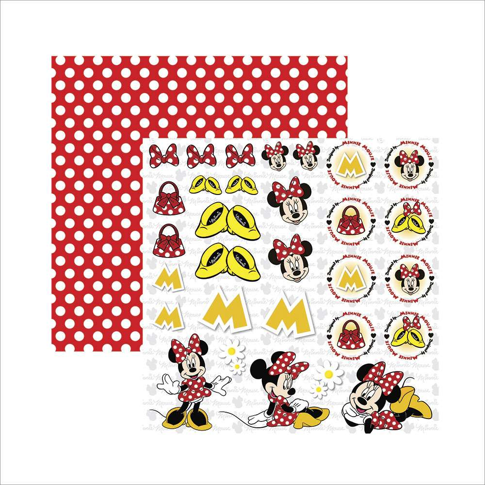 MINNIE MOUSE 2 RECORTES