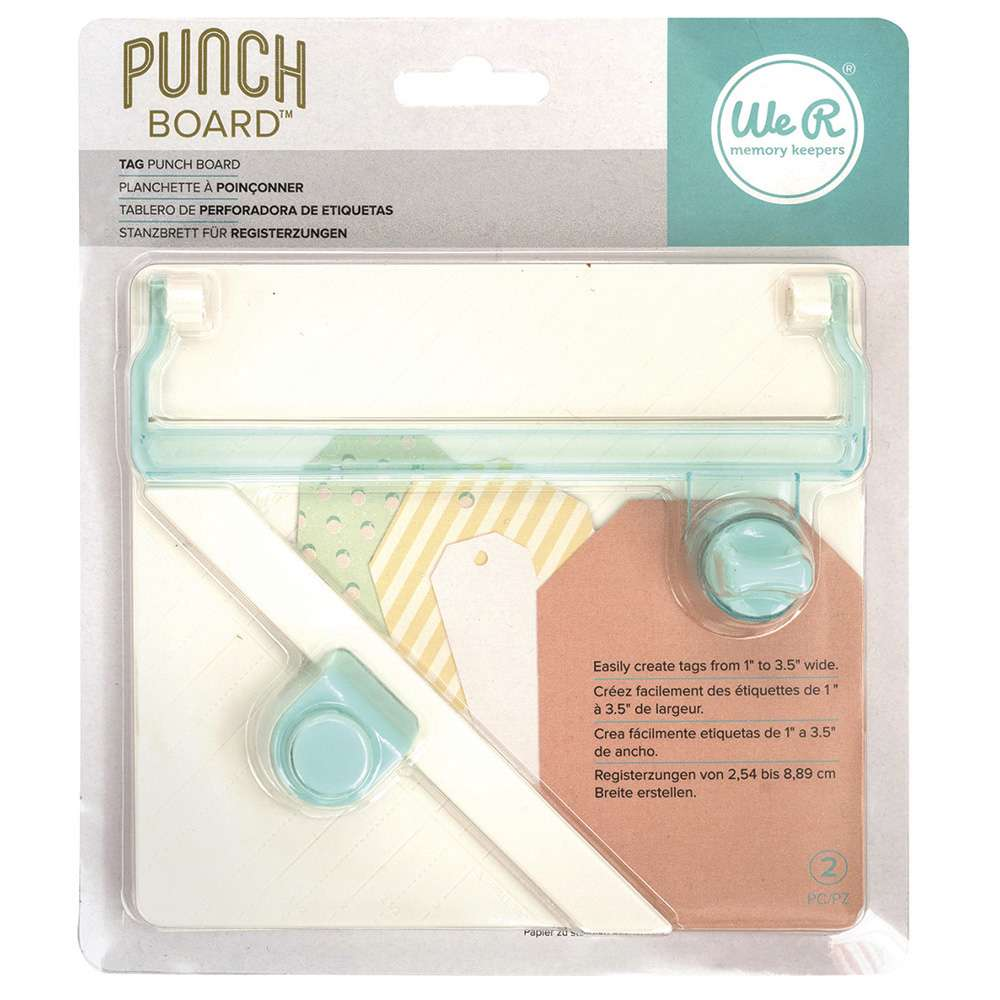 TAGS - TAG PUNCH BOARD WE R