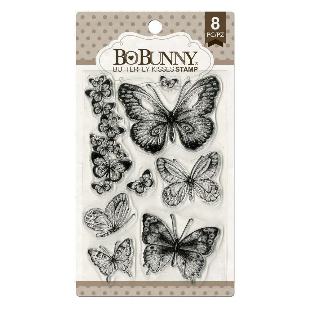 BORBOLETAS - BB BUTTERFLY KISSES STAMP